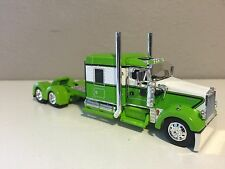"""LIME & WHITE DCP 1/64 KENWORTH W900L 72"""""""