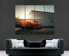 NISSAN POSTER GTR AMS PERFORMANCE CAR FAST WIDEBODY IMAGE LARGE WALL PICTURE
