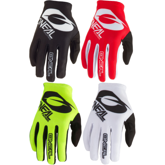 ION Dude Gloves 2016 Lightweight Mountain Bike Cycling Gloves Black Blue Red