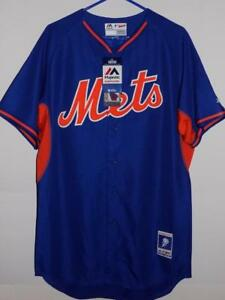 5492b830b New York Mets jersey  135 Majestic Authentic On-Field BP Cool Base ...