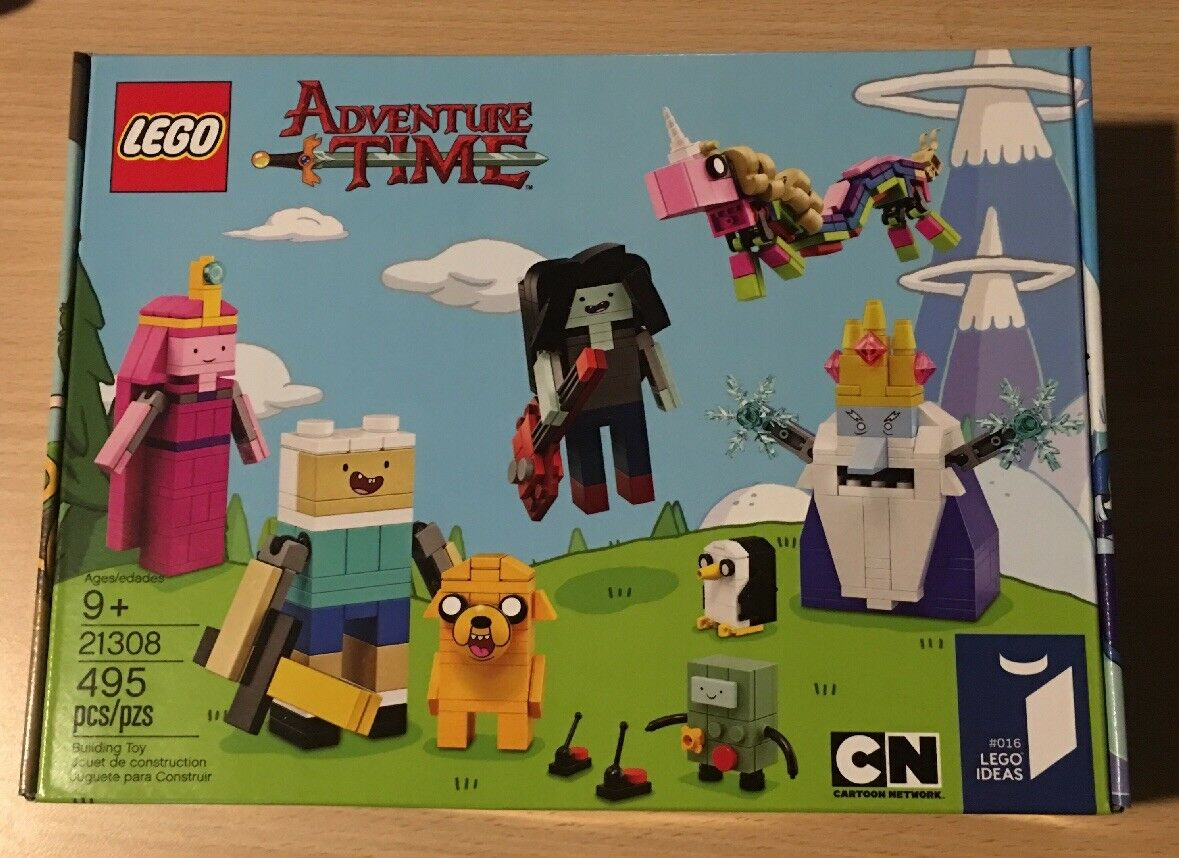 Lego Ideas Adventure Time #21308 BRAND NEW FACTORY SEALED Free Shipping
