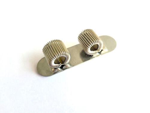 3 X Silber Selbstklebend Doppel Stifthalter Taschen Stift Clip
