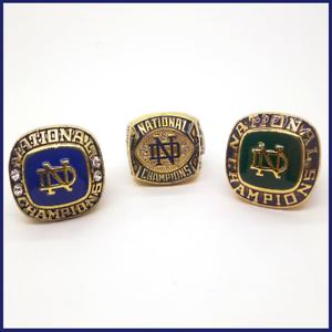 NCAA Notre Dame Fighting Irish Adult Men Cufflinks Gold