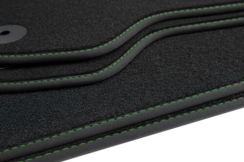 Allwetter Fußmatten für Skoda Rapid ab Bj 2012