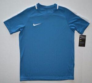NWT Boys//Girls Youth Nike  Dri Fit Fit T-shirt Blue White Sizes M-XL Red