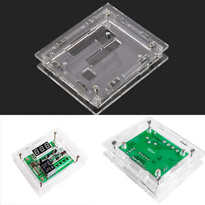 XH-W1209 DC 12V Cool Temp Thermostat Temperature Switch Controller Acrylic Box