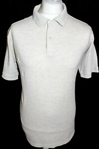 MARKS-amp-SPENCER-Mens-Biege-Polo-Shirt-Size-Large-Brand-New