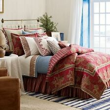 Chaps Ralph Lauren 4 Piece Juliette Comforter Bedding Set Cotton - Queen Size