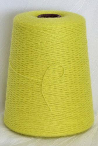anis 30/% Baby-Alpaka 35/% Merino 35 EUR //Kg gelbgrün Wolle Lace Lineapiu LL 375m
