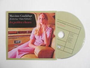 MASSIMO-GUADALUPI-feat-CLARA-GALANTE-LES-PETITES-CHOSES-CD-SINGLE