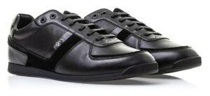 Hugo-Boss-Green-Men-039-s-Premium-Sport-Fashion-Sneakers-Running-Shoes-Maze-Lowp