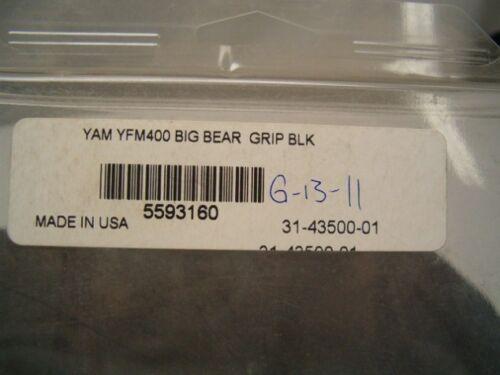 2007-08 Yamaha YFM400 Big Bear Quad Works Seat Cover
