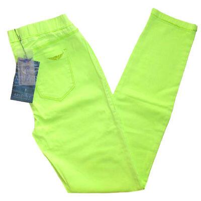 ARIZONA Jeggings Jeans Hose Skinny Stretch neongrün Gr. 20 80 40 NEU - J67