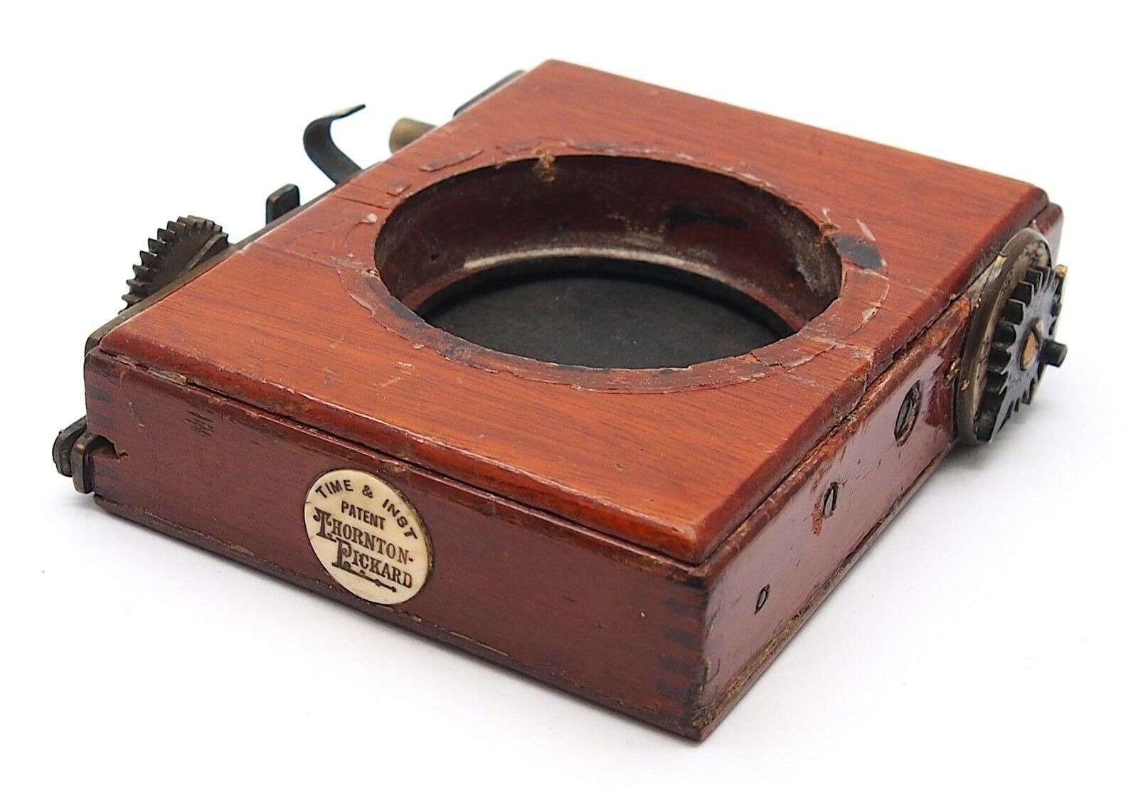 Antique Thornton Pickard Shutter for Plate Camera (100 x 80mm) - UK Dealer