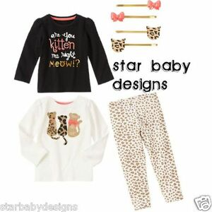 939f6fd29 NWT GYMBOREE RIGHT MEOW Outfit