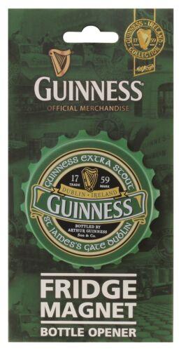Guinness Ireland Screwcap Bottle Opener Magnet