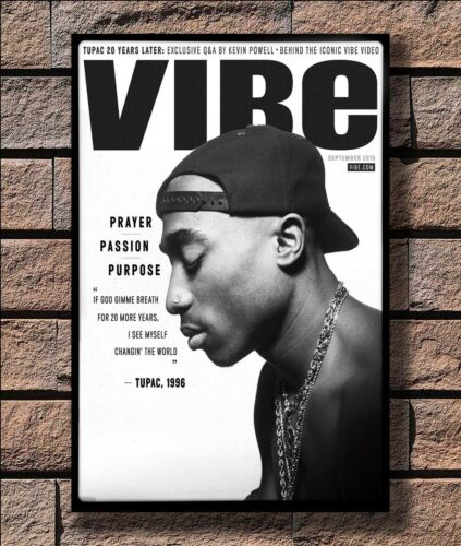 KX406 Tupac Shakur Poster 2Pac Print 20x30 24x36 40in Silk Poster