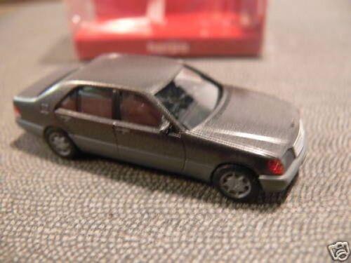 1//87 Herpa MB 600 sel gris plata metálica gris 3094