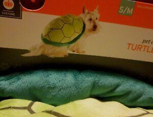 Pet Turtle Rider Costume S M Dog Tortoise Plush Shell New 813287024177 Ebay