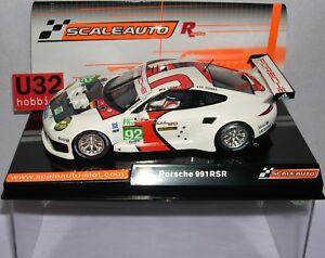 Scaleauto Sc-6065r Porsche 991rs # 92 Le Mans 2013 M.lieb-r.lietz-r.dumas Mb