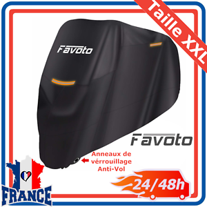 Housse-Bache-de-Moto-Couverture-Protection-Etanche-Anti-UV-Pluie-Boucle-XXL