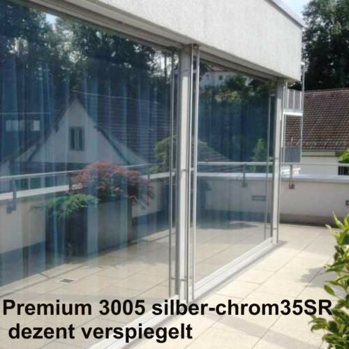 Film de Protection Solaire Protection Thermique Diapositive avec légère-légère verspiegelung