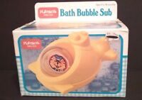 Playskool Bath Bubble Sub Water Toy Submarine In Box Vintage Ages 6 To 36 Months