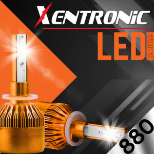 XENTRONIC LED HID Foglight kit 894 White for 1998-1999 GMC K1500 Suburban