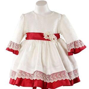 6cb288f54a33 Vestido de niña Miranda blanco - Miranda - Primavera – Verano | eBay