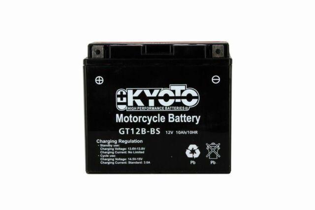 Batterie Kyoto YT12B-BS 12V 10AH Yamaha XJ6 600 F S DIVERSION 2009 2010 2011