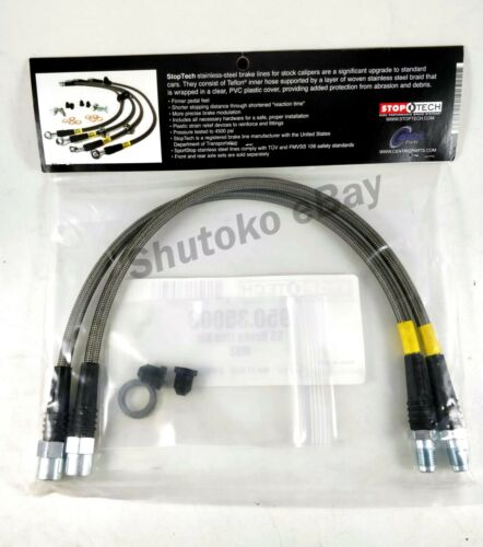 STOPTECH SS FRONT BRAKE LINES FOR MERCEDES BENZ S600 SL500 SL550 SL600