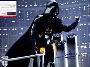 DAVE PROWSE Signed 11X14 Photo PSA/DNA #AC34629 STAR WARS DARTH VADER