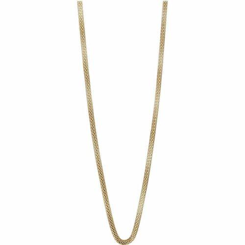 BERING Damen-Kette Milanaise für Charms Edelstahl vergoldet 423-20-X0