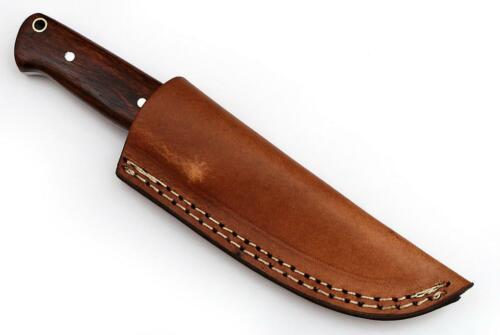 Cuchillo damascos muy bonito mano forjado con damascos cuchillo de caza 553dl