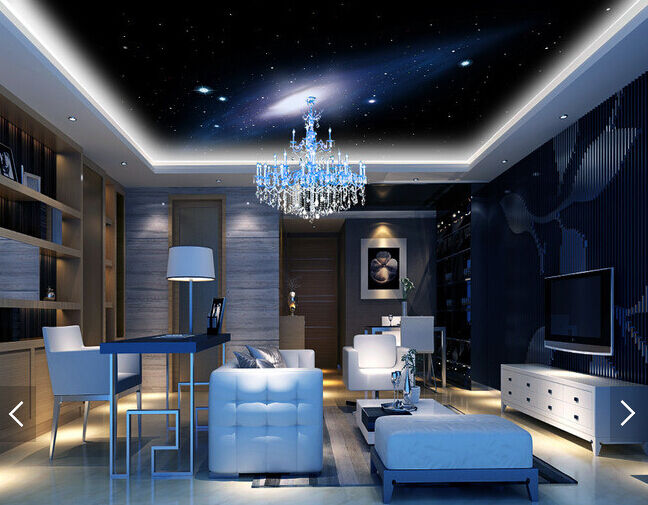 3D Cosmic Stars 5 Ceiling WallPaper Murals Wall Print Decal Deco AJ WALLPAPER UK