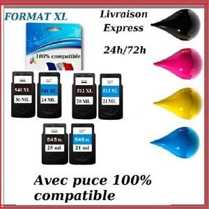 Cartouche-encre-compatible-Canon-PIXMA-PG512-CL513-PG540-CL541-PG545-CL546-XL