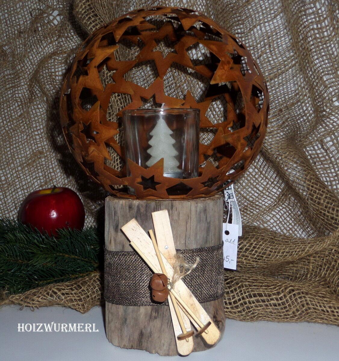 Weihnachtsdeko, Tischdeko, Treibholzdeko  011
