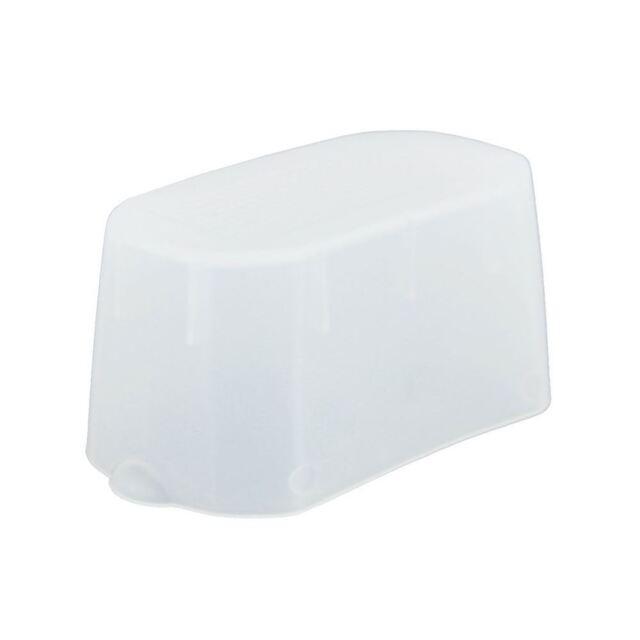 JJC White Bounce Dome Flash Light Diffuser for Nikon SB-500 Flashgun Speedlite