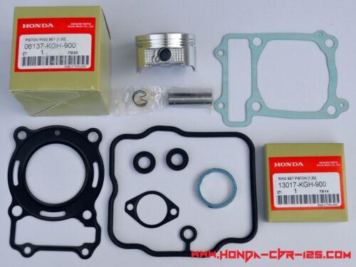 cylinder gasket kit OEM part Honda CBR 125 oversize piston kit