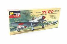 SEALED Monogram Mitsubishi Zero (Zeke) Japanese Fighter Aircraft PA73-98 1962