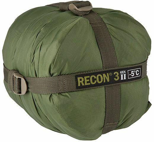 Elite Survival Systems Recon 3 Sac de couchage, OD, Coté à 23  Recon 3-OD