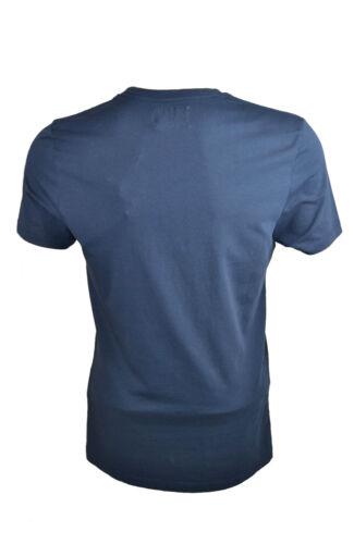 massives réductions CP Company Homme peint à la main T-shirt bleu marine TCC, 001 A