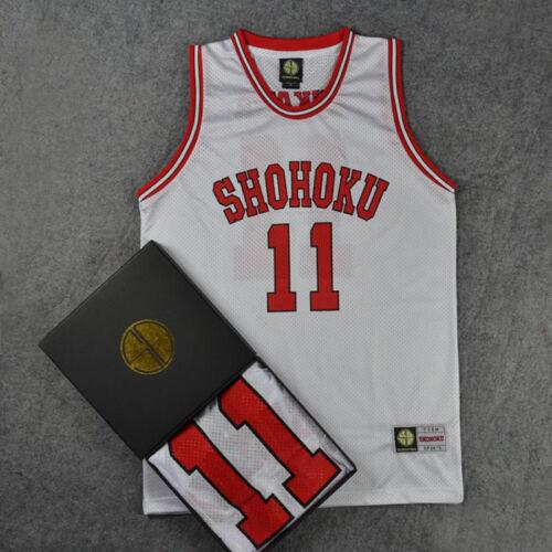 New! Anime Cosplay Slam Dunk Shohoku Basketball Replica Jersey Costume NO.1-15