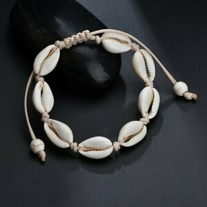 bracelet cheville cauri