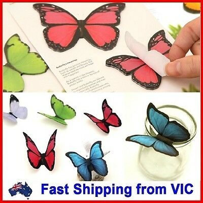 Butterfly Sticky Notes Paper Novelty School Office Gift Cute Cartoon Stationery