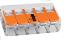 221-415 Conectores-terminales-Pack-of-100 Palanca-Abrazadera Wago 5-Way