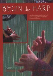 100% Vrai Commencer La Harpe Apprendre à Jouer Le Irish Folk Harpe Débutant Mode Music Book-afficher Le Titre D'origine PréVenir Et GuéRir Les Maladies