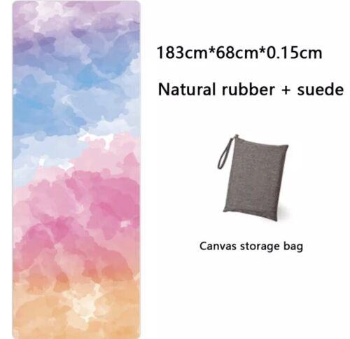 Yoga Mat Printing Ultra Thin Folding Non Slip Towel Sweat Absorbent Portable Pad