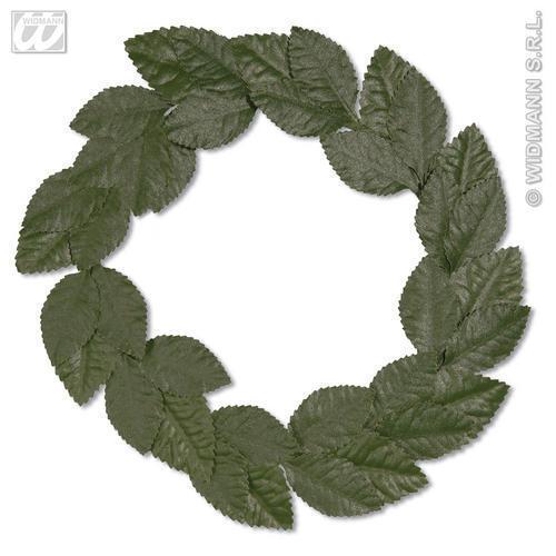 Green LAUREL headwreaths hat Jules César Toga fête robe fantaisie