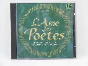 L-039-Ame-des-Poetes-Vol3-L-039-essentiel-Compilation-CD-Chanson-Francaise-valse-musette